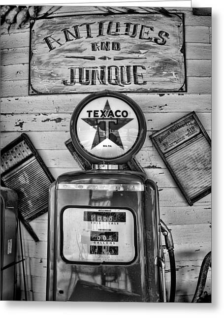 Historic Country Store Photographs Greeting Cards - Old Fashioned Greeting Card by Heather Applegate