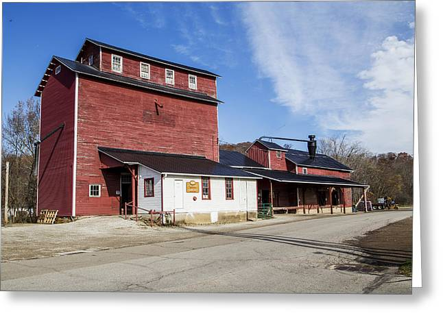 Old Feed Mills Photographs Greeting Cards - Old Feed Mill Greeting Card by John Radosevich