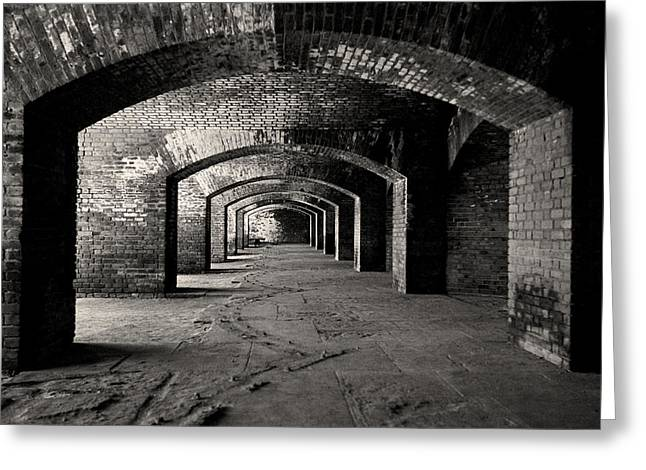 Dry Tortugas Greeting Cards - Old Fort Jefferson - Dry Tortugas National Park - Florida Keys Greeting Card by Andy Moine
