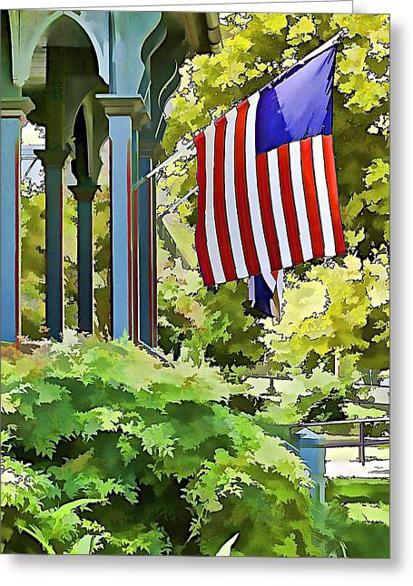 Patriot Photography Greeting Cards - Old Glory Greeting Card by David Letts