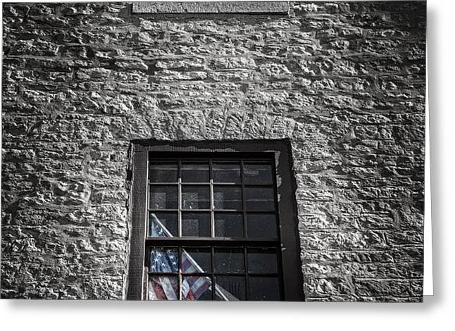 Old Glory Greeting Card by Scott Norris