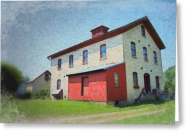 Grist Mill Greeting Cards - Old Grist Mill  Greeting Card by Bonfire Photography