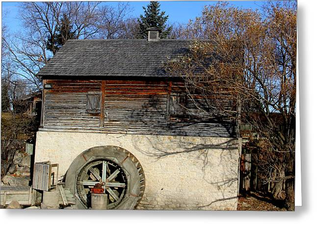 Grist Mill Greeting Cards - Old Grist Mill Greeting Card by Roy Urbach