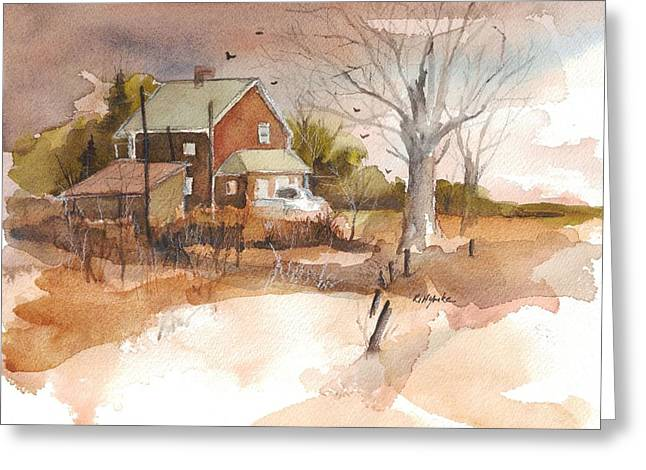 Old Home Place Greeting Card by Robert Yonke