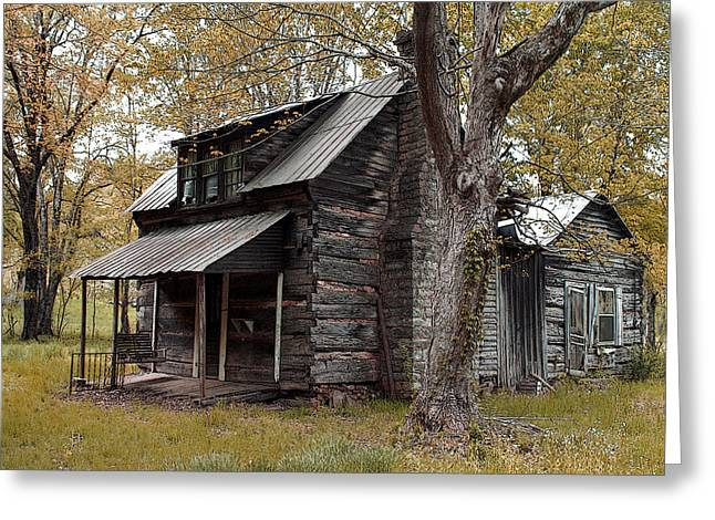 Old Home Place Greeting Card by TnBackroads Photography