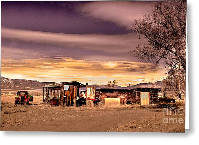 Old Truck Photography Greeting Cards - Old Homestead Greeting Card by Robert Bales