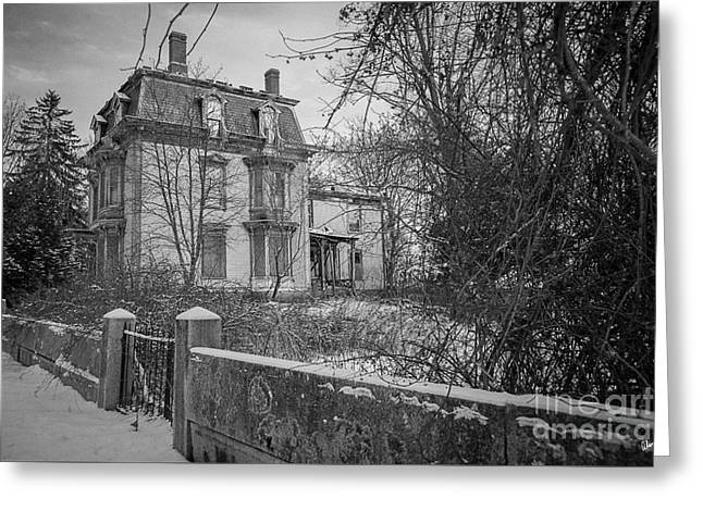 Old House Greeting Card by Alana Ranney