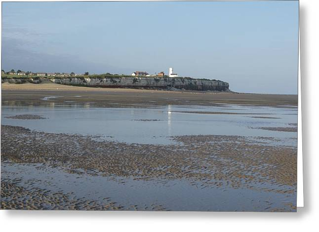 Knights Beach Greeting Cards - Old Hunstanton Beach Greeting Card by Derek Knight