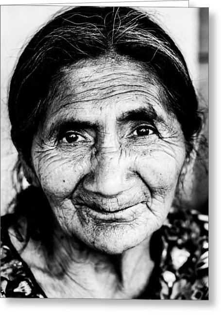 Freckles Greeting Cards - Abuelita Greeting Card by Parker Cunningham