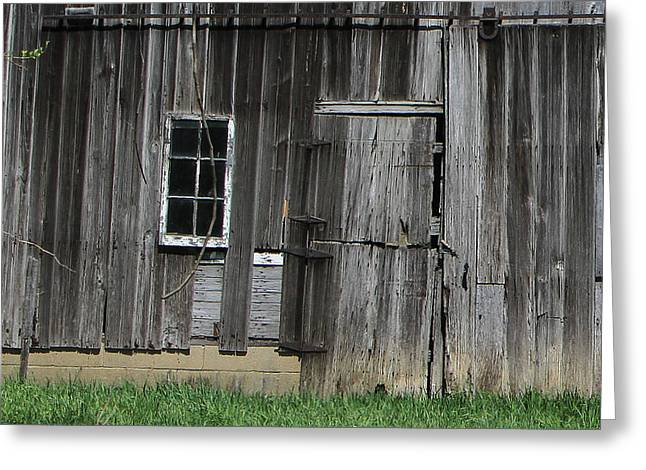 Indiana Scenes Greeting Cards - Old Indiana Barn Greeting Card by Jim Ferrier