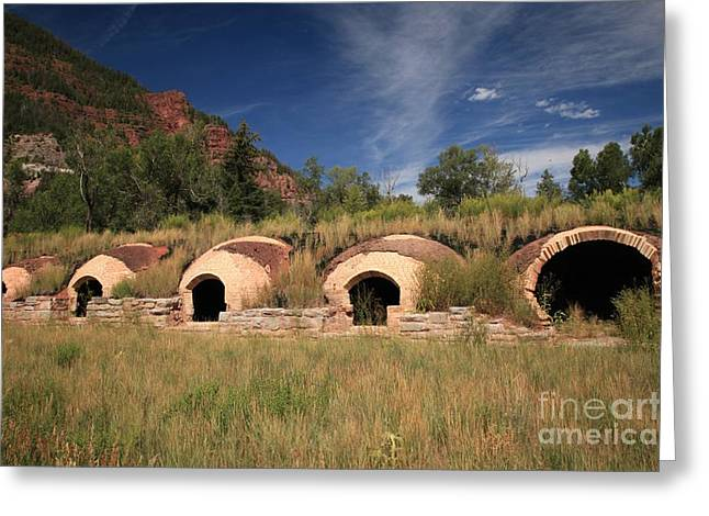 Old Industrial Colorado Greeting Card by Adam Jewell