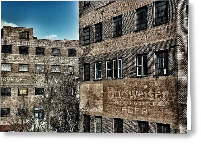 Paint Photograph Greeting Cards - Old Industry Greeting Card by Brandon Addis