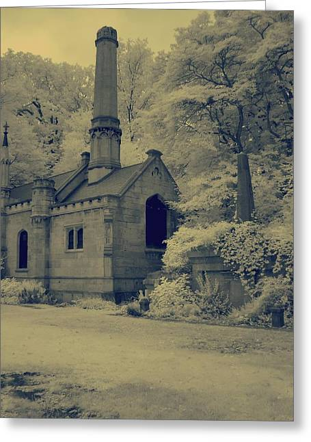 Vintage Style Photograph Greeting Cards - Old Infrared Greeting Card by Gothicolors Donna Snyder
