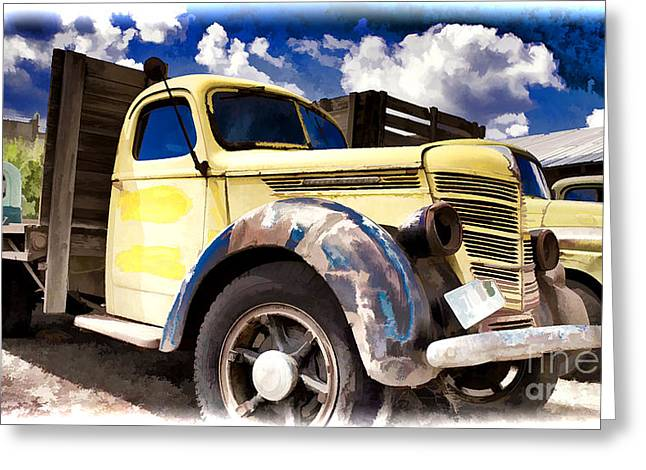 Ron Roberts Photography Greeting Cards Greeting Cards - Old International Hauler Greeting Card by Ron Roberts