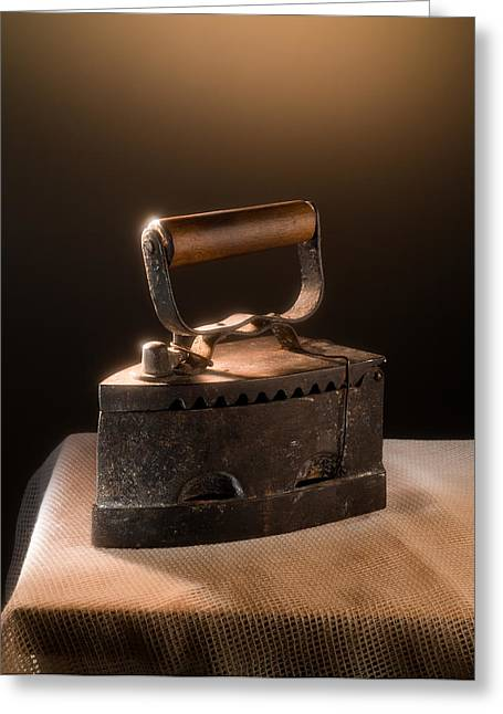 Ply Greeting Cards - Old Iron Greeting Card by Alain De Maximy