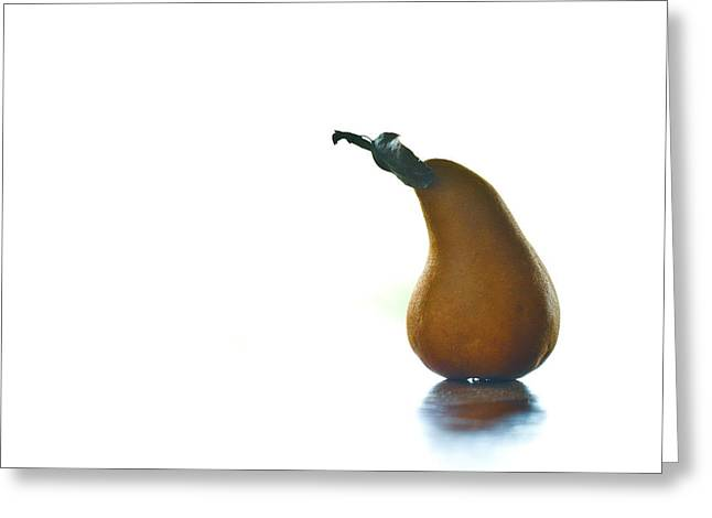 One Pear Greeting Cards - Old Man Greeting Card by Constance Fein Harding