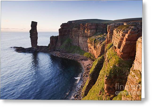 Recently Sold -  - Geology Photographs Greeting Cards - Old Man of Hoy Greeting Card by Derek Croucher