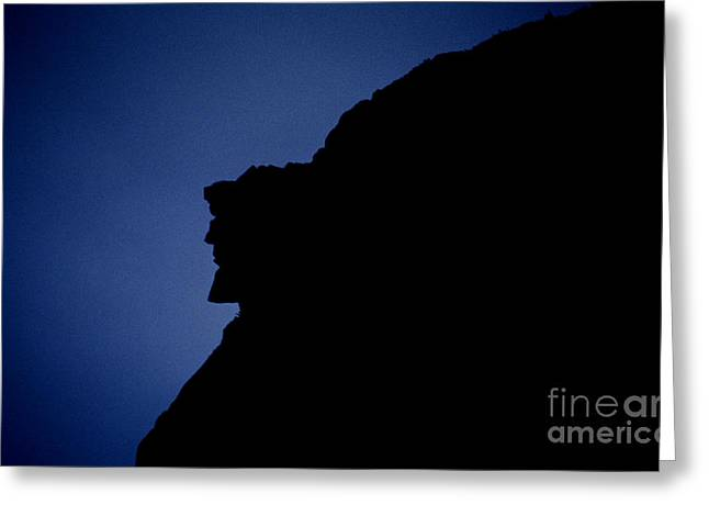 White Face Mountain Greeting Cards - Old Man of the Mountain - Franconia Notch State Park New Hampshire Greeting Card by Erin Paul Donovan