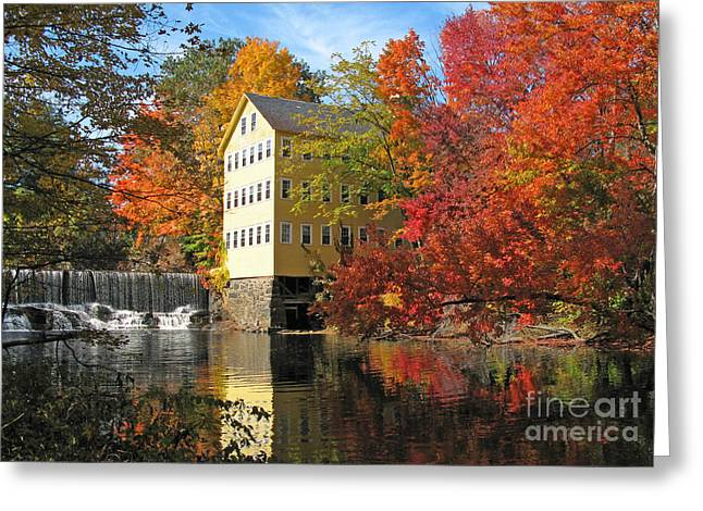 Old Mills Photographs Greeting Cards - Old Mill Bed and Breakfast  0223 Greeting Card by Jack Schultz