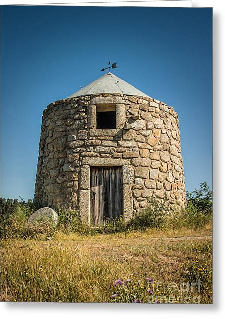 Old House Photographs Greeting Cards - Old Mill Greeting Card by Carlos Caetano