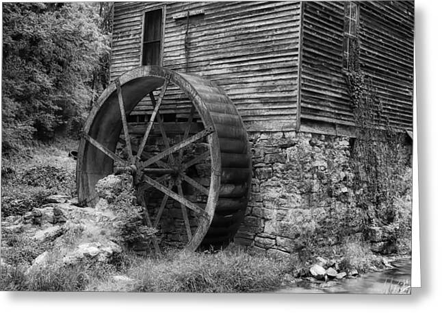 Old Mill in Tennessee Greeting Card by Mountain Dreams