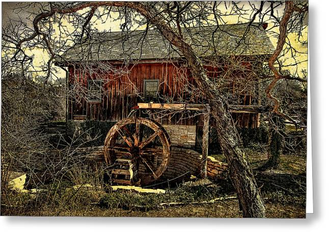 Grist Mill Greeting Cards - Old Mill Greeting Card by Jim Painter