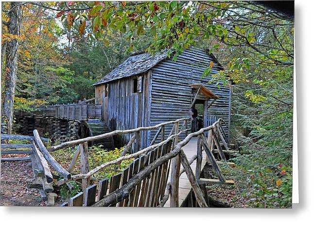 Recently Sold -  - Historical Images Greeting Cards - Old Mill Greeting Card by Kenny Francis