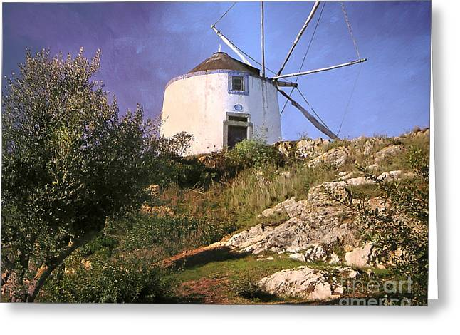 Photoart Greeting Cards - Old Mill Greeting Card by Lutz Baar