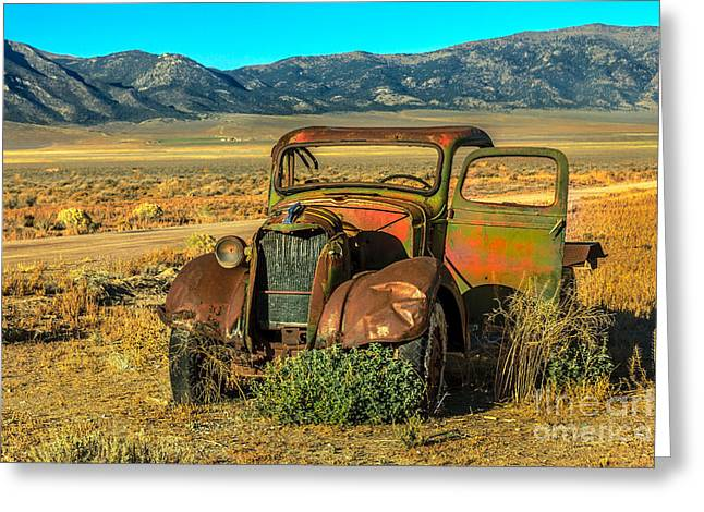 Ford Model T Car Greeting Cards - Old Model TT Greeting Card by Robert Bales