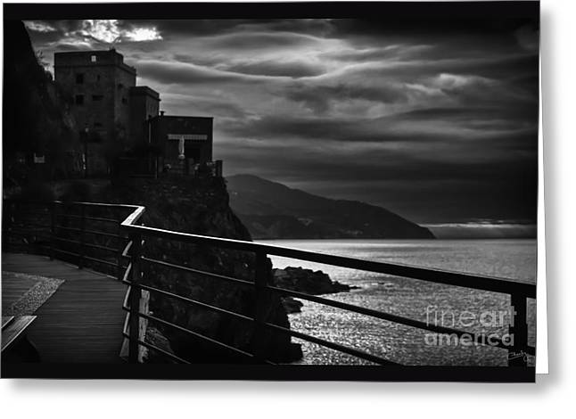 Charly Greeting Cards - Old Monterosso Greeting Card by Prints of Italy
