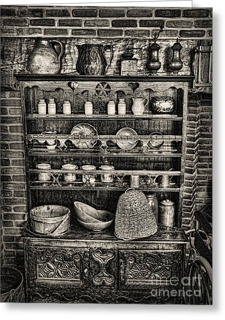 Fashion Pictures For Sale Greeting Cards - Old Mother Hubbards Cupboard Greeting Card by Lee Dos Santos