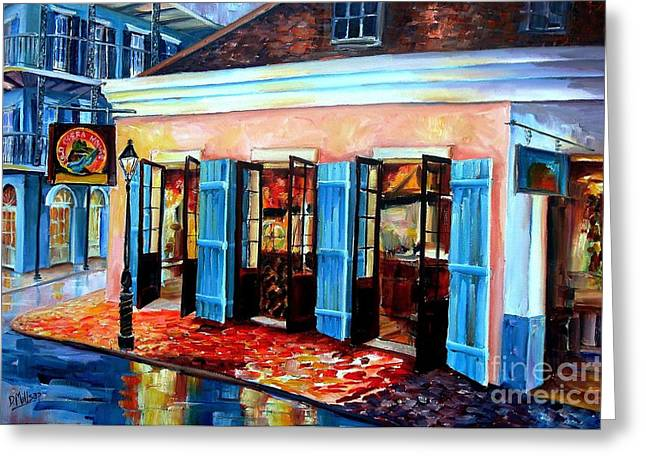 Zydeco Greeting Cards - Old Opera House-New Orleans Greeting Card by Diane Millsap