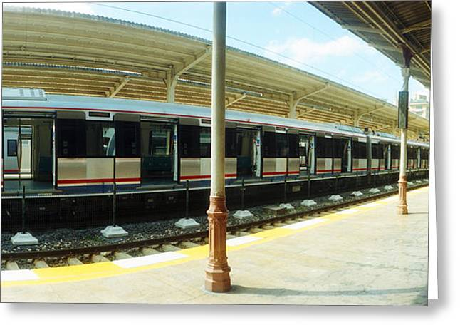 Marmara Greeting Cards - Old Orient Express Train Station Greeting Card by Panoramic Images
