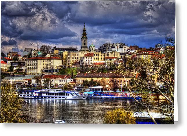 Kalemegdan Greeting Cards - Old Port Belgrade Greeting Card by Milan Karadzic