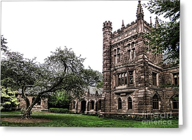 University School Greeting Cards - Old Princeton Greeting Card by Olivier Le Queinec