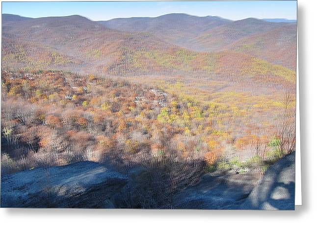 Old Rag Hiking Trail - 121231 Greeting Card by DC Photographer