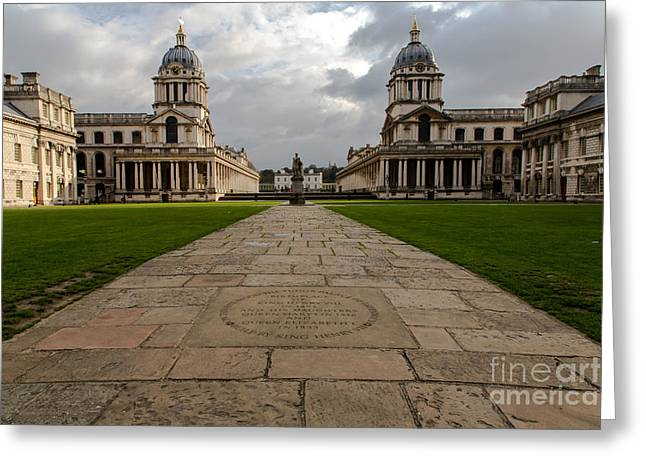 Royal Naval College Greeting Cards - Old Royal Naval College Greeting Card by John Daly