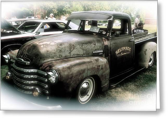 Rusted Cars Greeting Cards - Old Rusty Greeting Card by Luther   Fine Art