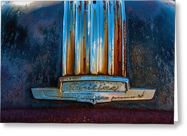 Old Rusty Pontiac Greeting Card by Xavier Cardell