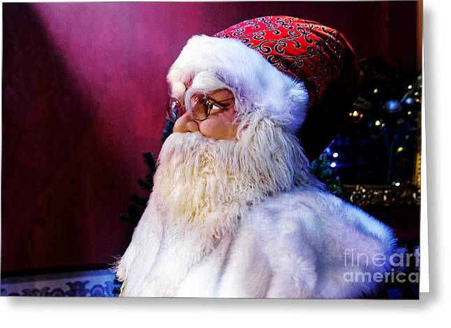 Old Saint Nick Greeting Cards - Old Saint Nick Greeting Card by Paul Mashburn