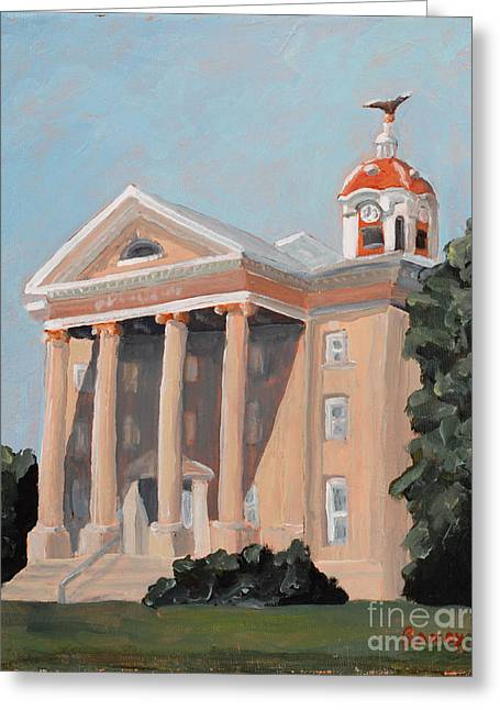Civil Greeting Cards - Old Salem Court House Greeting Card by Todd Bandy