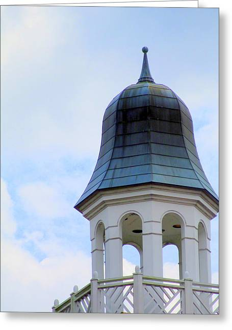 Cupola Greeting Cards - Old Salem Cupola Greeting Card by Randall Weidner