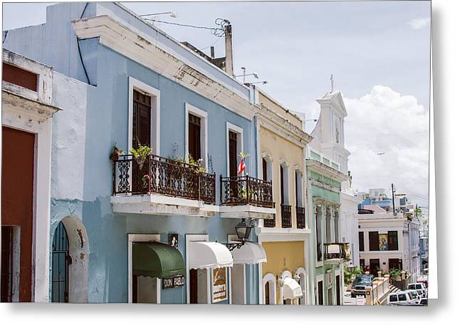 Old San Juan Greeting Cards - Old San Juan Greeting Card by Nastasia Cook