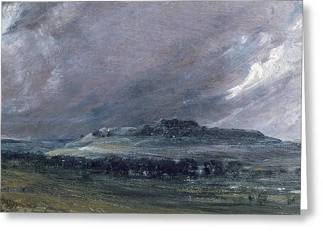 Shepherds Greeting Cards - Old Sarum Greeting Card by John Constable