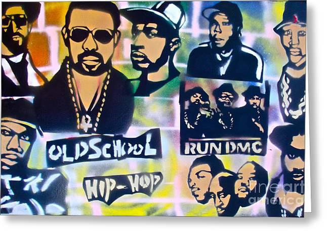 De La Soul Greeting Cards - Old School Hip Hop 2 Greeting Card by Tony B Conscious