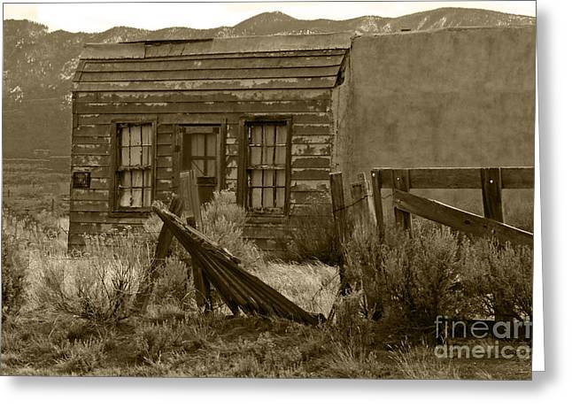 Ron Roberts Photography Greeting Cards Greeting Cards - Old School House Greeting Card by Ron Roberts