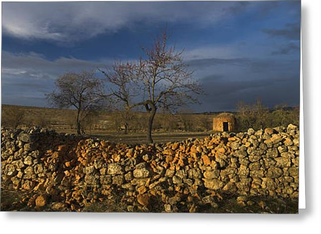 Old Shepherd's Hut Greeting Card by Guido Montanes Castillo