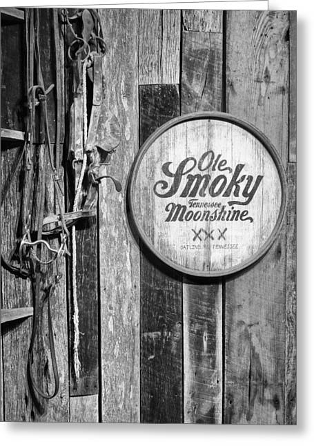 Tennesee Greeting Cards - Old Smoky Moonshine Greeting Card by Dan Sproul