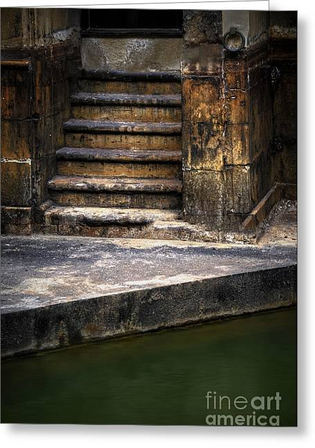 Old Steps Greeting Card by Svetlana Sewell