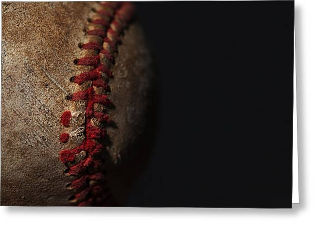 Old Pitcher Greeting Cards - Old Time Baseball Greeting Card by Karol  Livote